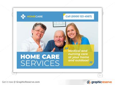 HOME CARE SERVICE EDDM POSTCARD