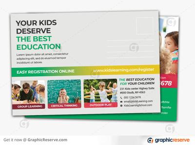 KIDS SCHOOL ADMISSION EDDM POSTCARD