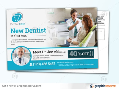 NEW DENTAL CLINIC PROMOTIONAL COUPON EDDM