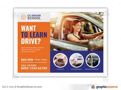 DRIVING SCHOOL EDDM POSTCARD