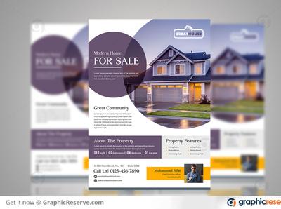 House Sale Real Estate Flyer