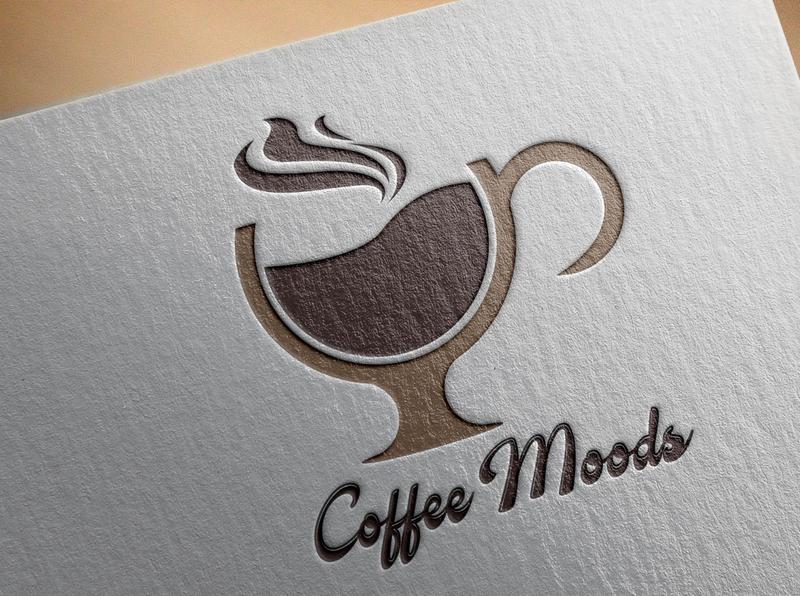 Creative Coffee Mods Logo Design coffee mods logo coffee mods logo creative logo brand identity logo design logo