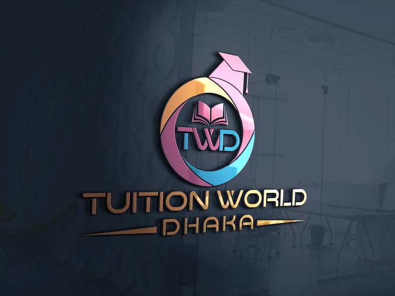 Education Logo Design creative logo brand identity logo design logo education logo education tuition world