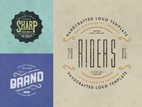 Retro Logo Templates V.03
