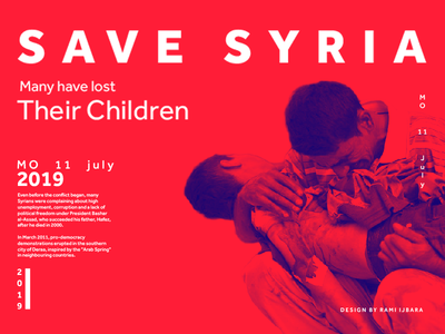 save syria poster