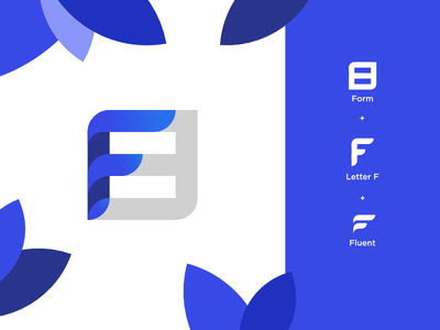 FluentForm - Logo concept