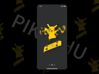 Pikachu skateboard