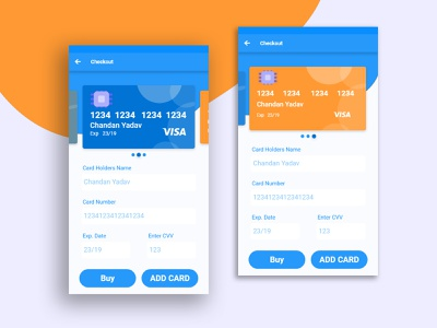 Credit Card checkout Screen daily 100 challenge daily ui dailyui ux app logo branding ui typography uiux trend illustration design