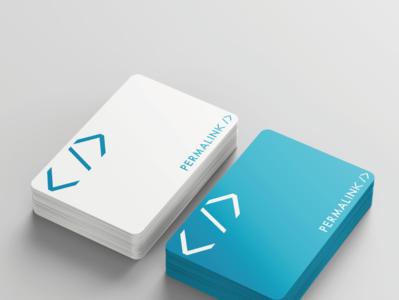 Permalink stationery logo