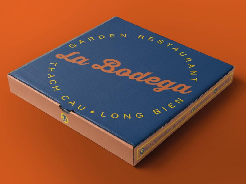 La Bodega packaging stationery logo
