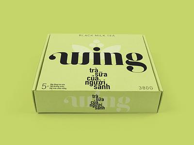 Wing packaging logo