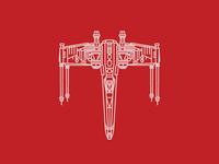 X-wing print