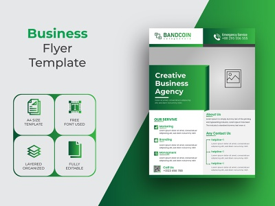 Creative Business Agency And Corporate Flyer Template Design flyers graphic design flyer how to design a flyer food flyer design real estate flyer flyer template doctor flyer madical flyer design business flyer corporate flyer design flyer graphicsobai
