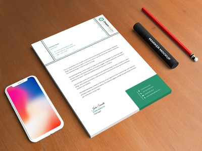 sample letterhead design