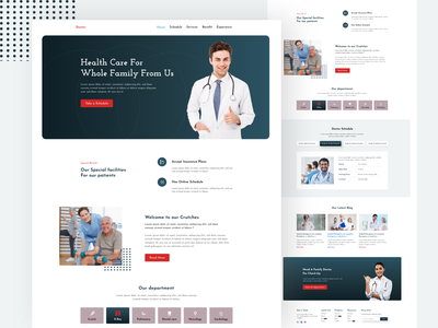 Doctor appointments web page design agency branding dribbble most view dribbble best shot medical illustration agency landing page medical needs medical logo doctors web page design medicine app medical design medical app medical care heahth doctor who doctor appointment doctor app agency website agency