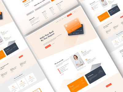 Banking website bank account web landing page design website brand identity banking money bank app banking fitch banking services wallet banking banking website banking app branding banking finance bank card