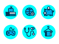 icons for a simulator