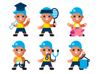 Boy avatars