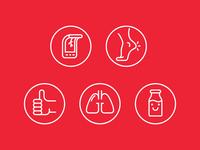 Men's Health US icons