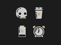 I Love Mondays icon set