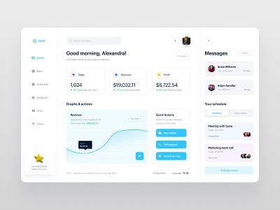 Sales Dashboard App mobiletrends ui  ux uiux design app fireart studio mobile design mobile app mobile minimal interface inspiration design