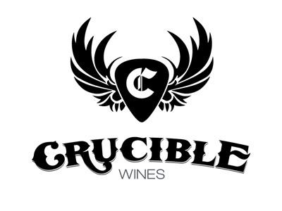Crucible Wines Logo WIP logo branding wip identity design logo design illustration