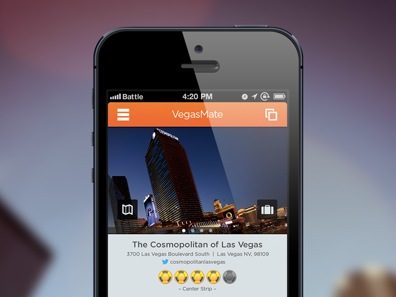 Vegasmate redesign