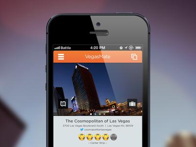 VegasMate Detail Page