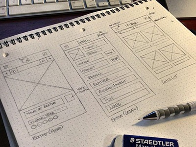 Liqr Wireframe (iPhone) iphone ios wireframe ui ux wip sketches