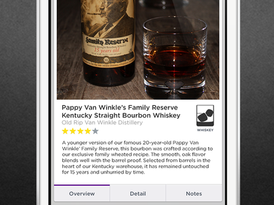 WIP Liqr iPhone Detail Page iphone ios wireframe ui ux wip