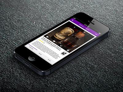 Liqr Detail Page ios iphone ui ux
