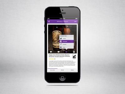 Liqr Detail - Share ios iphone ui ux