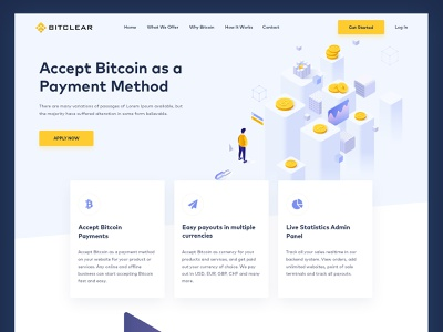 Crypto Website Concept   Web UI design latest new design web ui website layout payment abstract web clean psd mockup psd web design graphics isometric bitpay design crypto currency currency bitcoin layout crypto website