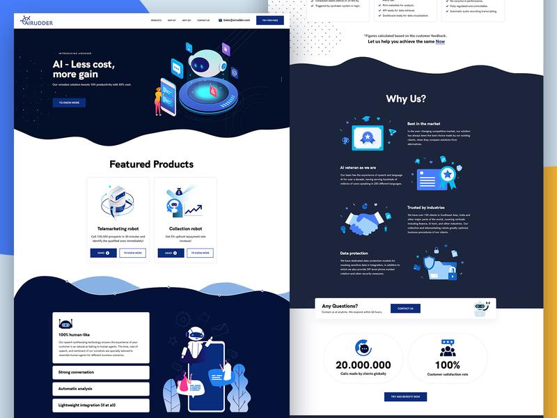 Landing Page UI UX web illustration illustration latest new layout ui ux design psd design web layout website design web ui dribbble creative abstract modern clean layout design uiux ux ui website