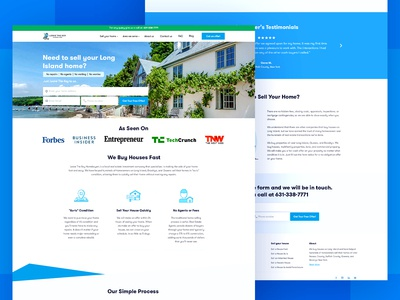 Real Estate Landing Page Website