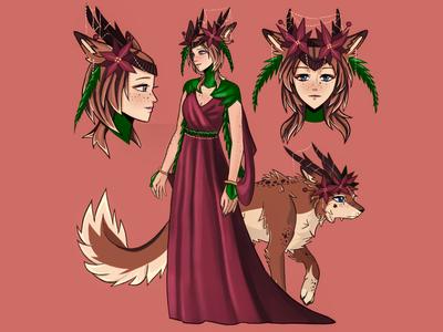 Ophelia illustration