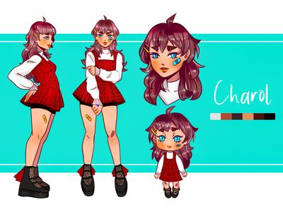 Charol illustration