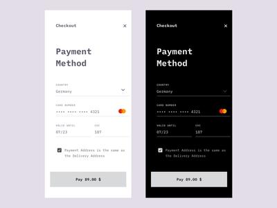 Payment Method App