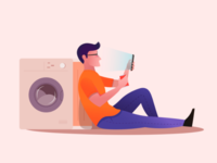Boring laundry