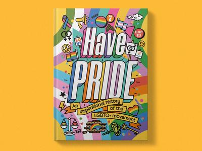 """Have Pride"" Book - Cover Art, Spot Illustrations"