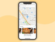 Food delivery app - UI exploration