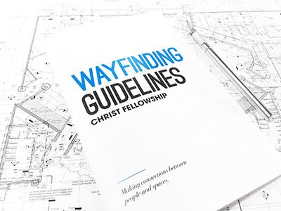 Wayfinding Guidelines signage branding guidelines wayfinding
