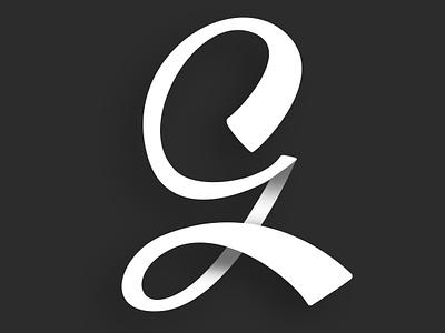 CG Logo typography handlettering g logo cg logo c cg logo