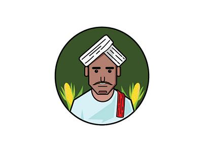 Farmer illustration illustration farmer