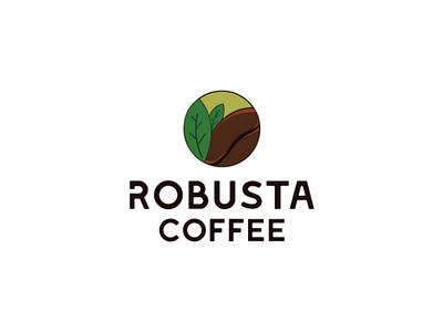 Robusta coffee logo design logo design branding logo