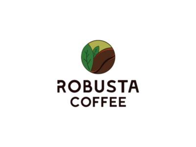 Robusta coffee logo design