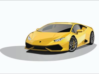 Lamborghini digital work