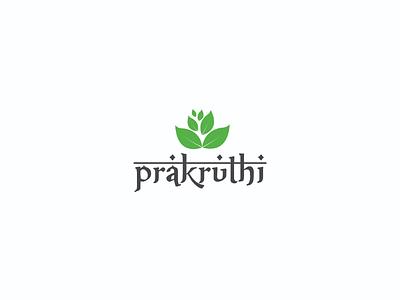 Prakriti logo logo design project work logo