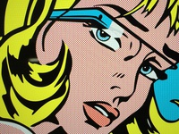 Google Glass + Lichtenstein tribute