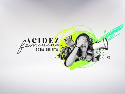Digital collage for BBTV - Acidez Feminina (youtuber)